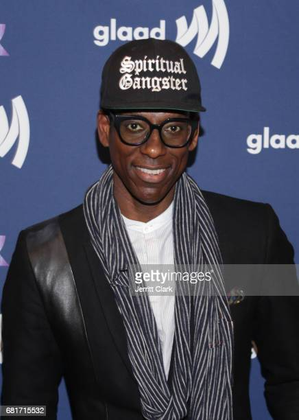 Orlando Jones attends STARZ's Presents A Special Screening Of 'American Gods' In Partnership With GLAAD at The Paley Center for Media on May 10 2017...