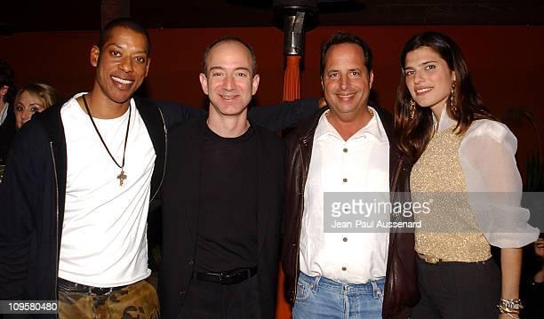Orlando Jones Jeff Bezos CEO of Amazon Jon Lovitz and Lake Bell