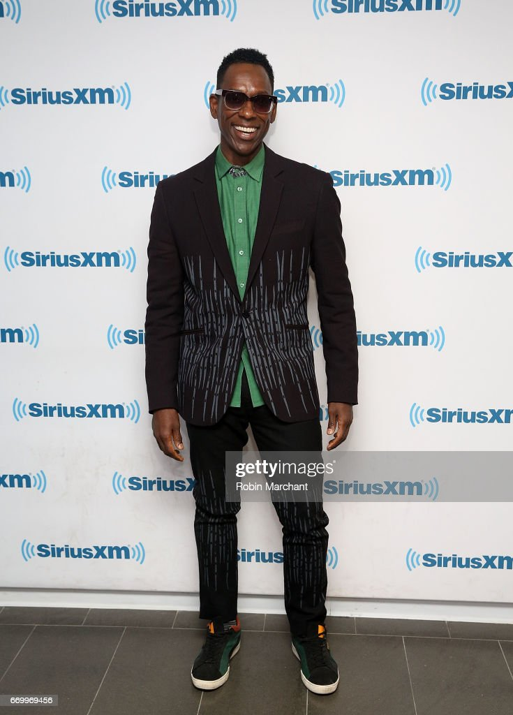 Orlando Jones visits at SiriusXM Studios on April 18, 2017 in New York City.