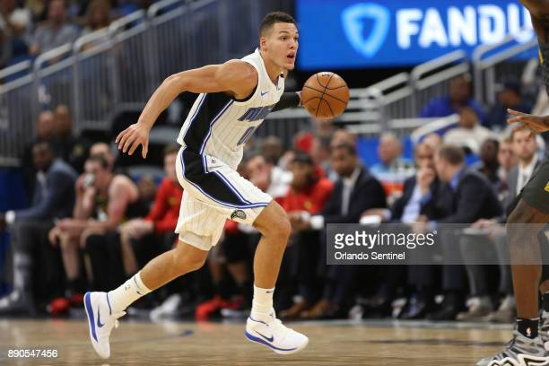 Orlando Magic forward Aaron Gordon goes after the ball on Dec 6 2017 at the Amway Center in Orlando Fla Gordon says he's free of symptoms from his...
