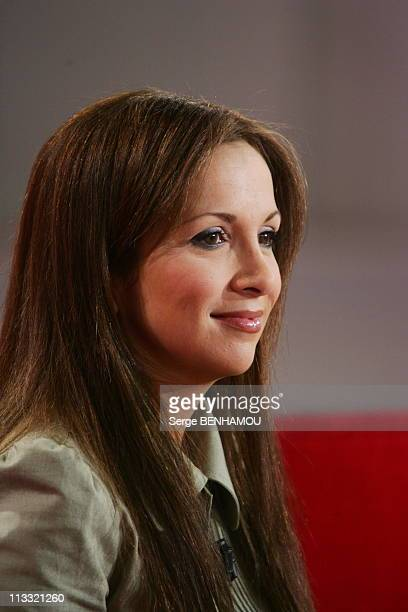 Orlando On 'Vivement Dimanche' Tv Show On May 3Rd 2006 In Paris France Here Helene Segara