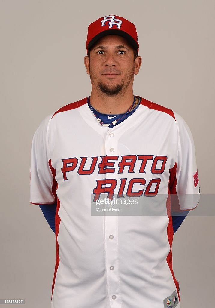 Orlando Roman #34 of Team Puerto Rico poses for a headshot for the 2013 World Baseball Classic at the City of Palms Baseball Complex on Monday, March 4, 2013 in Fort Myers, Florida.