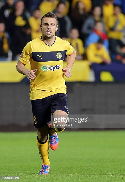 Orlando Sa of AEL Limassol FC in action during the UEFA Europa League group stage match between AEL Limassol FC and Fenerbahce SK held on October 25...