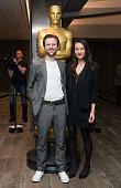 Orlando Von Einsiedel and Joanna Natasegara arrive at the 87th Annual Academy Awards Oscar Week Celebrates Documentaries at Samuel Goldwyn Theater on...