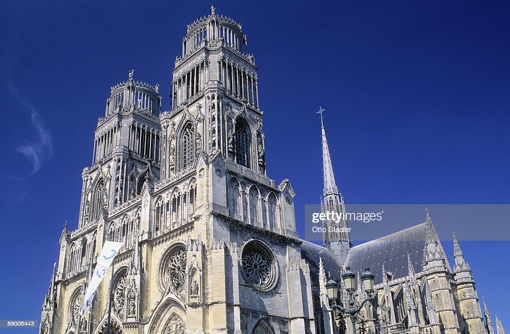 Orleans Cathedral, Loiret, France