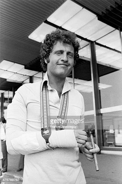 Orly France Joe Dassin French singer at the Orly airport