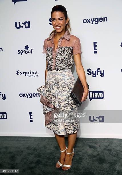 Orly Shani attends the 2014 NBCUniversal Cable Entertainment Upfronts at The Jacob K Javits Convention Center on May 15 2014 in New York City