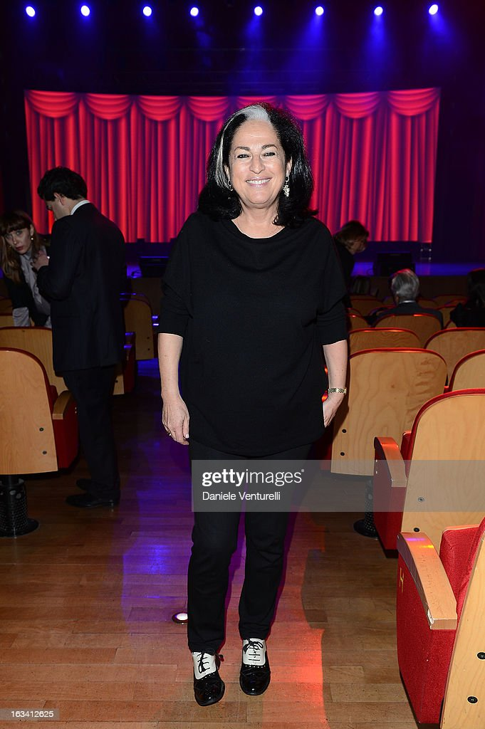 Orna Nofarber attends the 24th Accademia Del Profumo International Award 2013 at Teatro Manzoni on March 8, 2013 in Bologna, Italy.