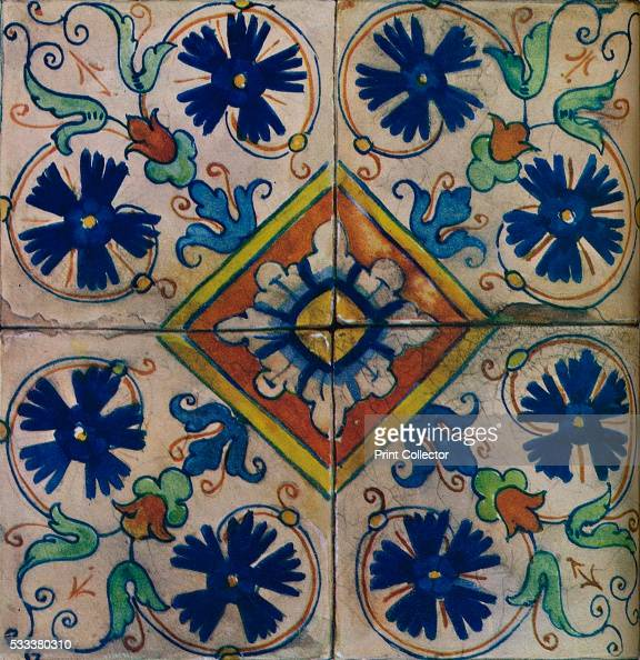 Italian Tiles Italian Ceramic Tile Mail: Vintage Italian Ceramic Tile Stock Photos And Pictures
