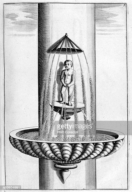 Ornamental fountain design 1664 Elaborate designs for Baroque fountains for public squares and private country house gardens in the French German...