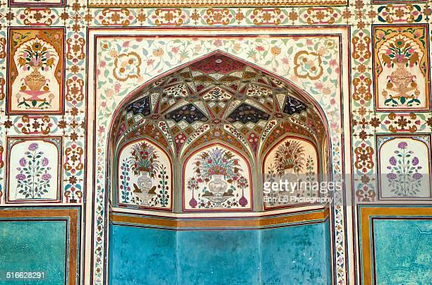 Ornate arcade, Amber palace