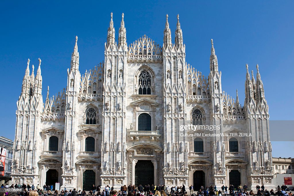 Ornate cathedral with spires