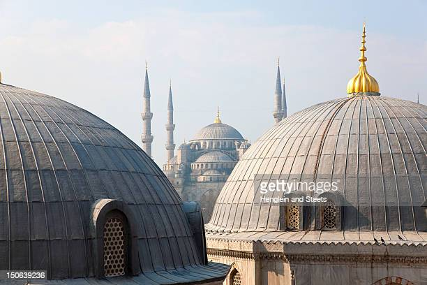 Ornate domes and windows