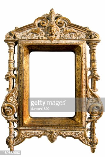 ornate frame stock photo