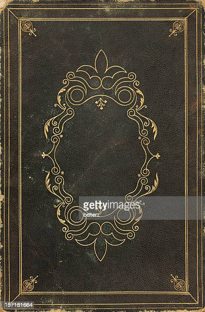 ornate old book cover