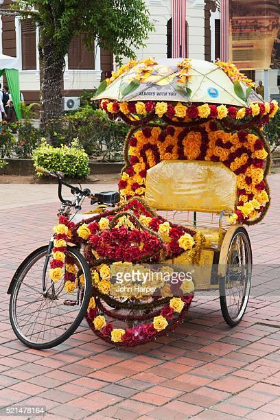 Ornate Rickshaws, Melaka, Malaysia