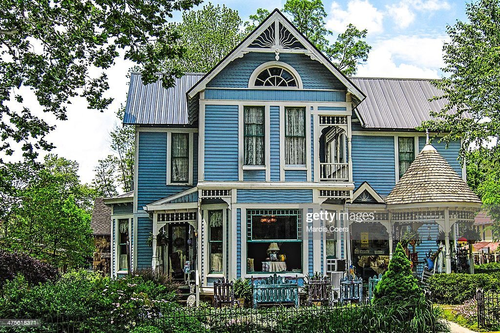 Ornate Victorian Style House Nashville Indiana Pictures