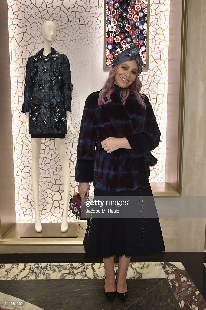 Ornella Muti attends Palazzo FENDI And ZUMA Inauguration on March 10, 2016 in Rome, Italy.
