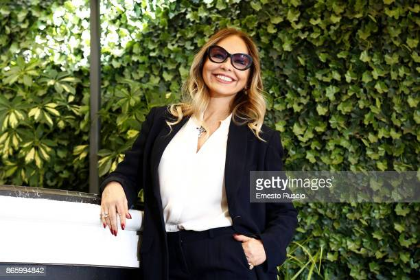 Ornella Muti attends 'Sirene' tv show photocall at Hotel Bernini on October 24 2017 in Rome Italy