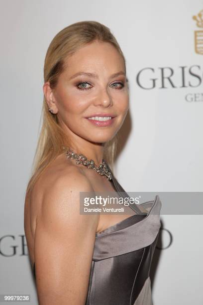 Ornella Muti attends the de Grisogono party at the Hotel Du Cap on May 18 2010 in Cap D'Antibes France
