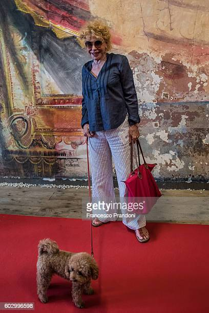 Ornella Vanoti at red carpet of 'Heart Of A Dog' Screening at Teatro Parenti on September 11 2016 in Milan Italy