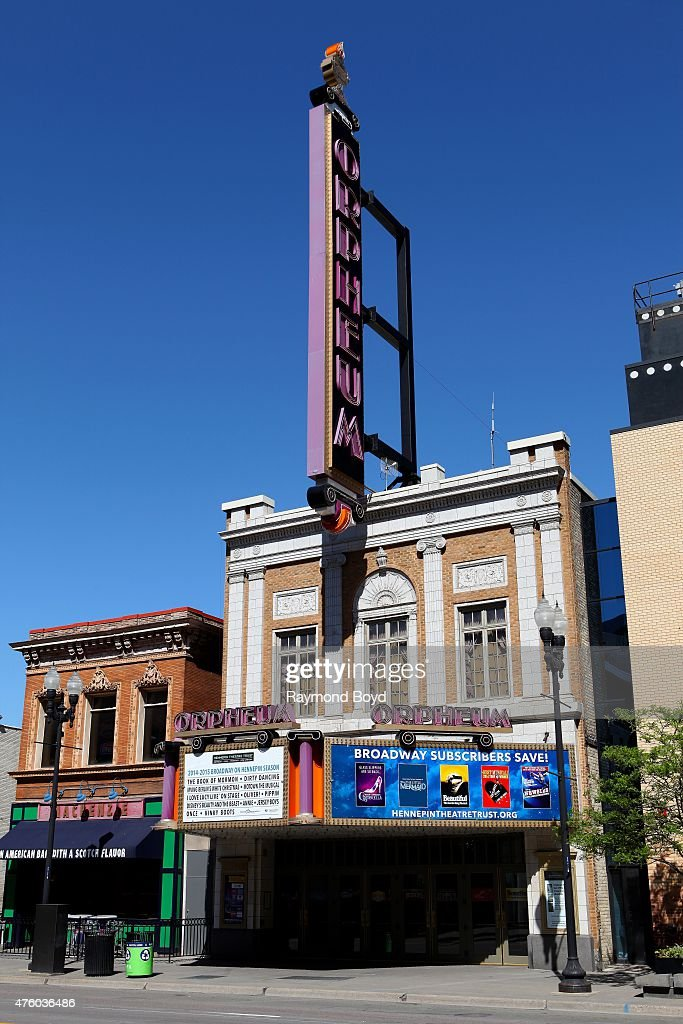 Orpheum Theatre on May 22 2015 in Minneapolis Minnesota