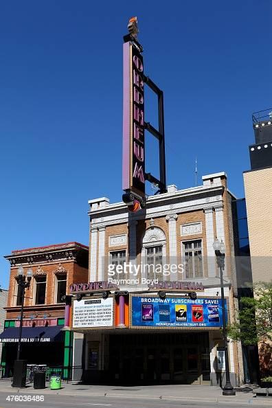 Orpheum Theatre on May 22 2015 in Minneapolis Minnesota