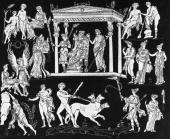 Orpheus a musician from Greek mythology charms Hades and Persephone King and Queen of the Underworld with his lyre playing in order to win back his...