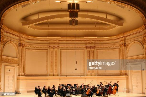 Orpheus Chamber Orchestra performing at Carnegie Hall on Saturday night January 31 2009This imageOrpheus Chamber Orchestra performing Mozart's...