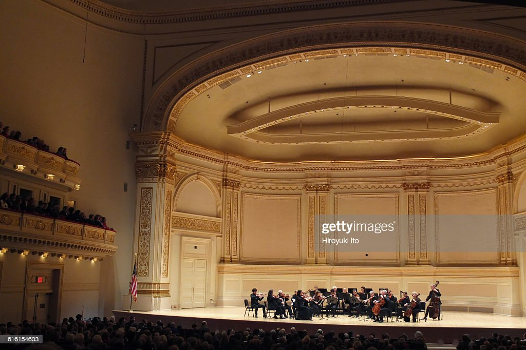 Orpheus Chamber Orchestra performing at Carnegie Hall on Saturday night March 19 2016This imageOrpheus Chamber Orchestra performing J C Bach's...