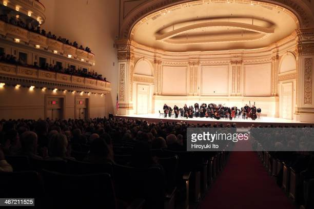 Orpheus Chamber Orchestra performing Beethoven's 'Symphony No 2 in D Major' at Carnegie Hall on Saturday night January 25 2014