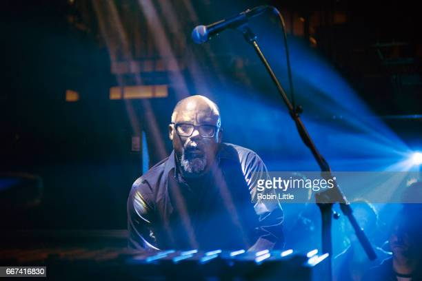 Orphy Robinson of Black Top performs at The Jazz Cafe on April 11 2017 in London United Kingdom