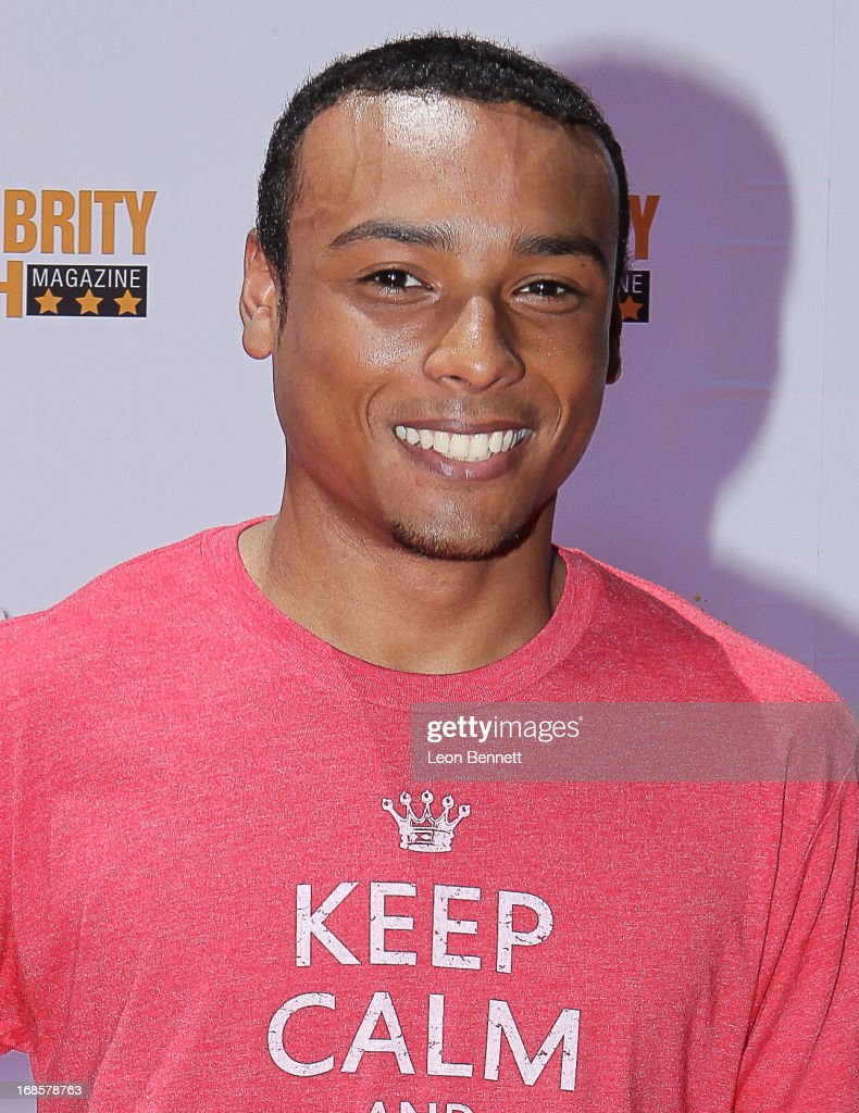 Orrn Williams arrived at LAUSD's Beyond The Bell Branch And Nick Cannons Celebrity High Present 'Spotlight On Success' at Paramount Studios on May 11, 2013 in Hollywood, California.