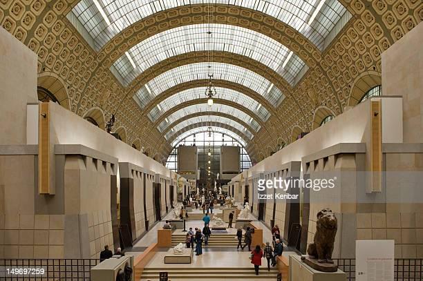 Orsay Museum interior.