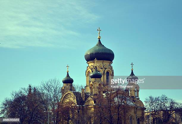 Orthodox Church in Warsaw, Poland
