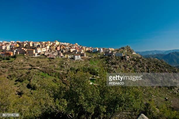Orune Barbagia Sardinia Italy