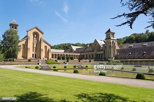 Orval Abbey in Belgium