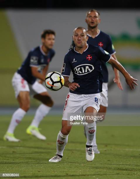 Os Belenenses midfielder Andre Sousa from Portugal in action during the PreSeason Friendly match between CF Os Belenenses and GD Estoril Praia at...