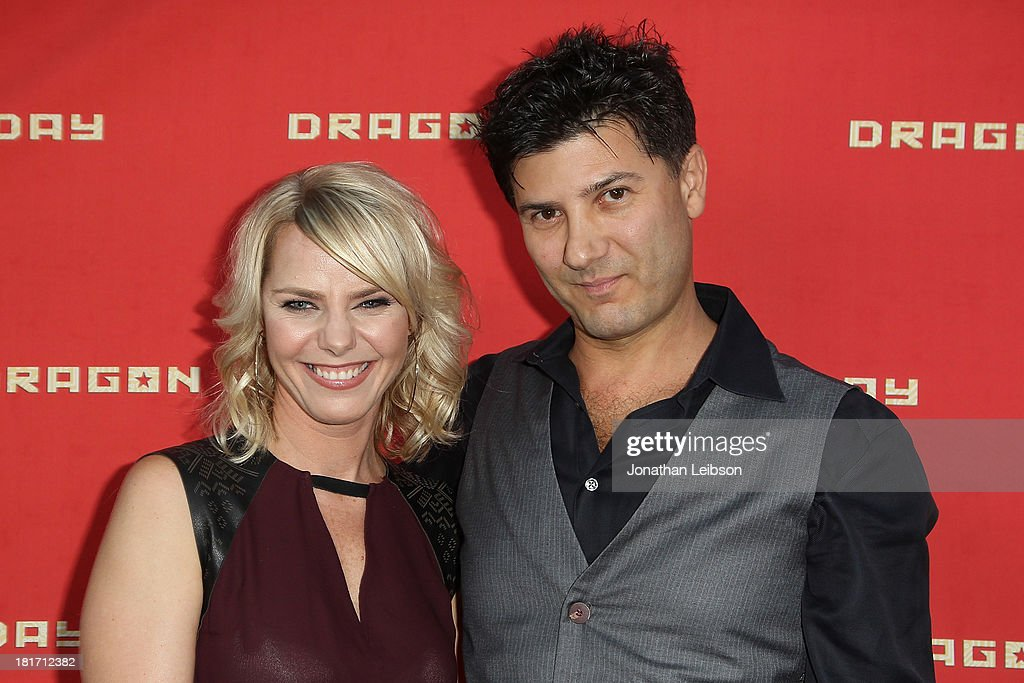 Osa Wallander and Ethan Flower attend the 'Dragon Day' Red Carpet at Downtown Independent Theatre on September 23, 2013 in Los Angeles, California.