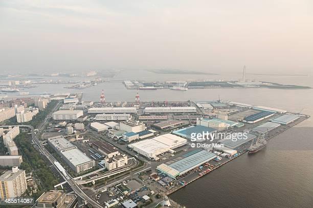 Osaka harbor