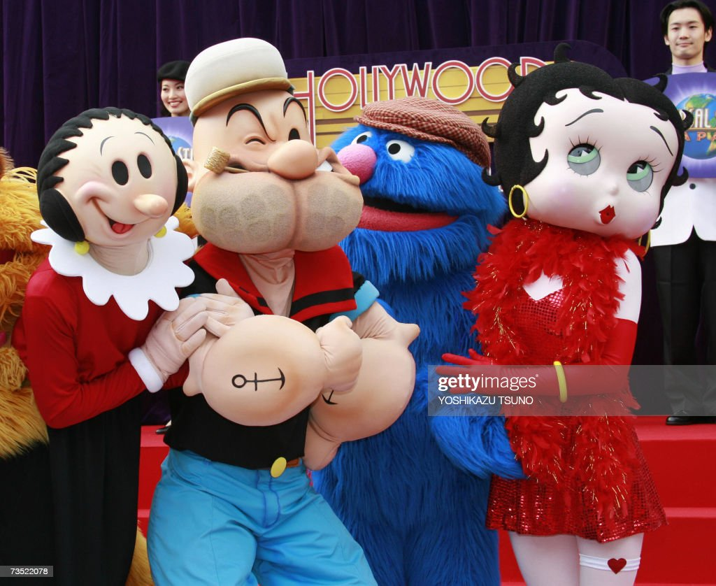 Cartoon Characters Universal Studios : Betty boop getty images