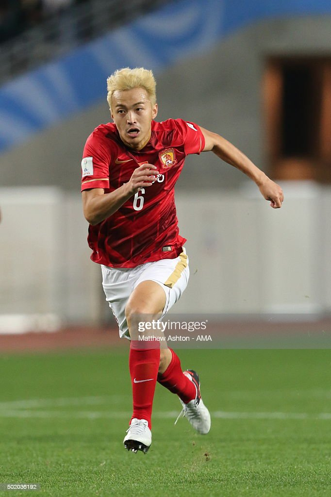 Feng Xiaoting of Guangzhou Evergrande FC during the FIFA Club World Cup quarter final between the Club America and Guangzhou Evergrande FC at Osaka Nagai Stadium on December 13, 2015 in Osaka, Japan. (Photo by Matthew Ashton - AMA/Getty Images) Feng Xiaoting