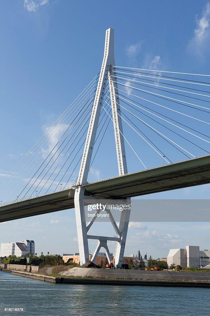 Osaka Tempozan Bridge : Stock Photo