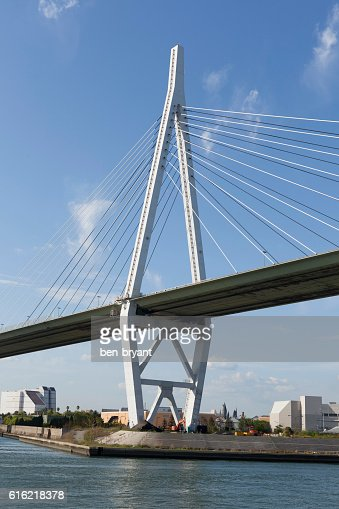 Osaka Tempozan Bridge : Stock Photo