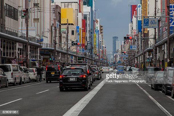 Osaka traffic jam