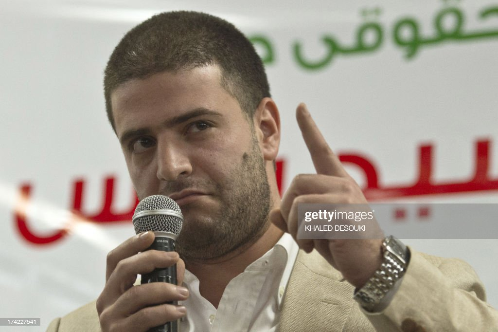 <b>Osama Mohamed</b> Morsi son of Egypt's ousted president Mohamed Morsi speaks ... - osama-mohamed-morsi-son-of-egypts-ousted-president-mohamed-morsi-a-picture-id174227541