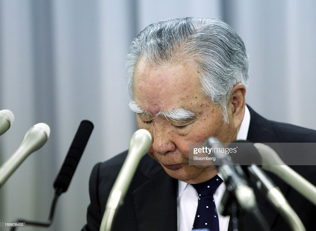 Osamu Suzuki, president and chairman of Suzuki Motor Corp., attends a news conference in Tokyo, Japan, on Friday, Nov. 9, 2012. Suzuki Motor's China October sales dropped 29% from a year earlier to 17,000 units. Photographer: Haruyoshi Yamaguchi/Bloomberg via Getty Images Osamu Suzuki
