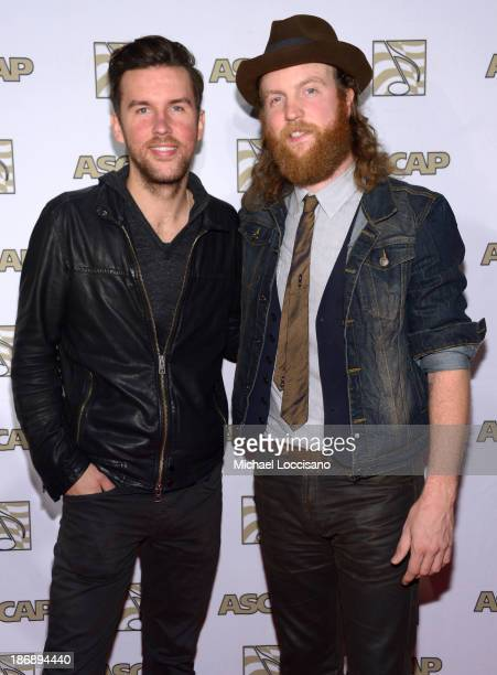 Osborne and John Osborne of Brothers Osborne attend the 51st annual ASCAP Country Music Awards at Music City Center on November 4 2013 in Nashville...
