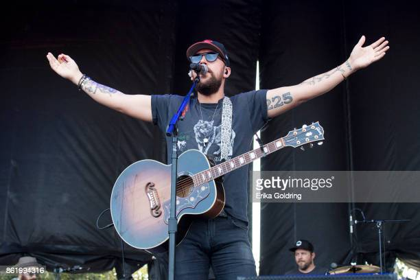 T Osborne of Brothers Osborne performs during Austin City Limits Festival at Zilker Park on October 15 2017 in Austin Texas