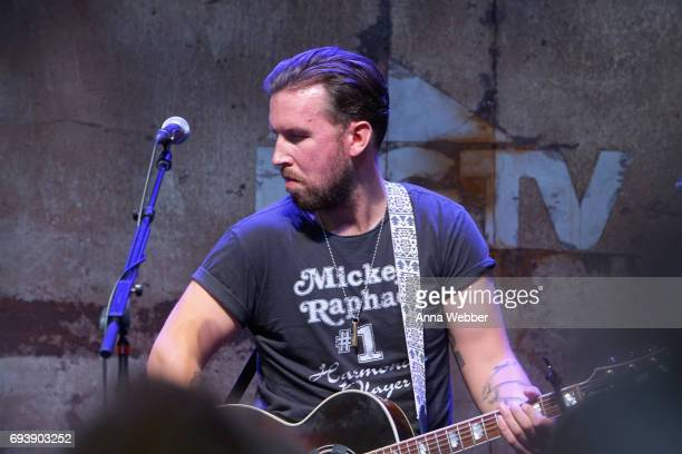J Osborne of The Brothers Osborne performs onstage at the HGTV Lodge during CMA Music Fest on June 8 2017 in Nashville Tennessee